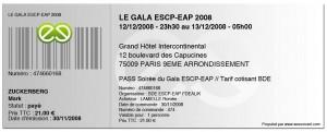 Gala ESCP-EAP 2008