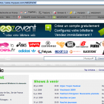 Weezevent ason Myspace