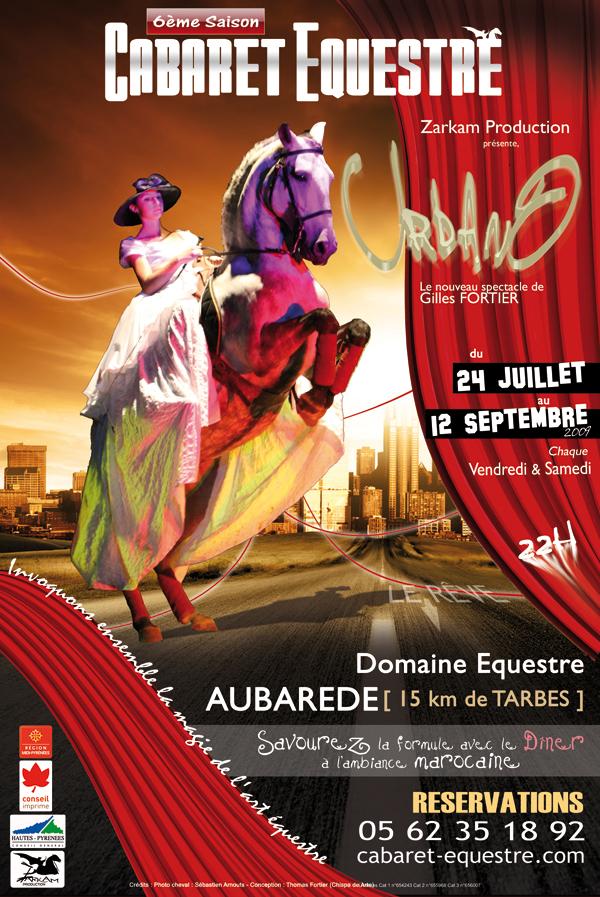 Billetterie spectacle: Entrée en piste pour Le Cabaret Equestre