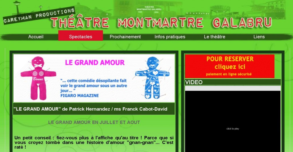 Zoom client: Théâtre Montmartre Galabru