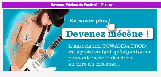 Campagne de dons pour le festival Femmes Funk avec Weezevent