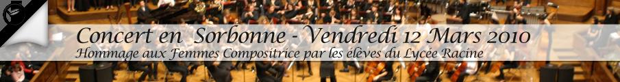 Billetterie pour concert de Musique classique à La Sorbonne