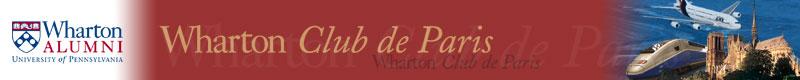 Inscriptions aux petits déjeuners du Wharton club deParis