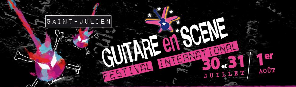 Service de billetterie pour le festival Guitare en Scène 2010