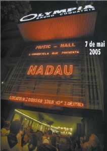 Billetterie pour associations: Nadau