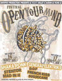 Festival Open Your Mind 16 & 17 Juillet