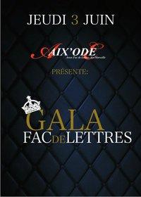 Gala Fac de lettres Aix'Ode