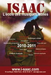ISAAC: les adhésions pour l'année 2010/2011