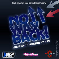 No Way Back le 27⁄06 au Redlight