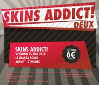 La Skins Addict àRouen crée ànouveau une billetterie
