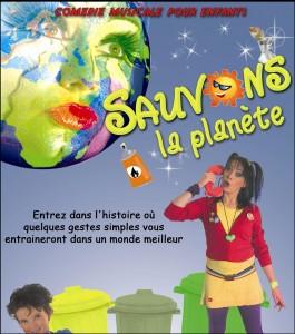 Comédie musicale «Sauvons la planète»