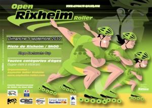 Inscription en ligne àl'Open de Rixheim – Course àrollers