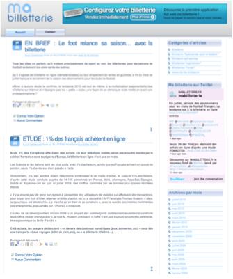 """Le site Weezevent.com devient """"annonceur"""" auprès de plusieurs blogs spécialisés"""