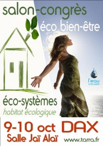 Une solution de billetterie en ligne pour Salon-Congrès Eco Bien-être de DAX!