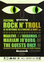 Billeterie d'événements: le 5° rock'n troll festival!