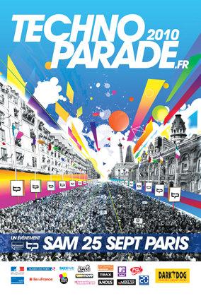 DIABLO PARADISE : Le char de la Technoparade 2010