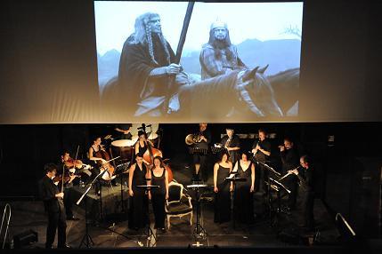 Billetterie d'un ciné concert dans le Roussillon
