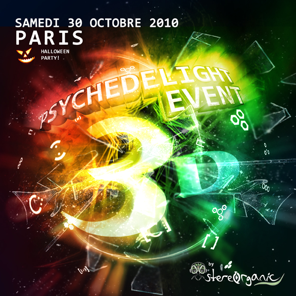 Psychedelight by stereorganic avec Weezevent