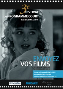 La billetterie du 3° Festival du Film Court