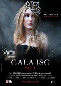 Billetterie du Gala 2011 organisé par l'ISG