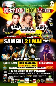 Billetterie International Reggae Bashment