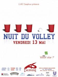 Billetterie en ligne de la Nuit du volley organisée par l'AS Dauphine