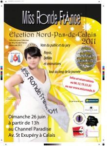 Réservations des places pour l'élection de Miss Ronde Nord-Pas-de-Calais