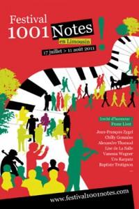 Billetterie intégrée sur le site du festival 1001notes