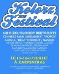 Réservation de vos billets pour le festival Kolorz des Trans'art de Carpentras