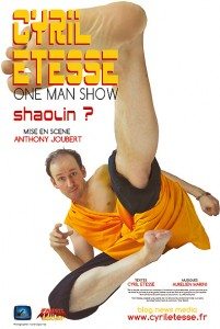 Billetterie Weezevent pour le one man show de Cyril Etesse