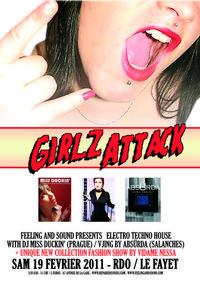 Réservez vos places en ligne pour Girlz Attack avec Weezevent