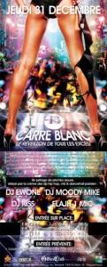 La billetterie pour organisateur Weezevent présente la soirée du réveillon Carré Blanc propulsée par le Gibus Club