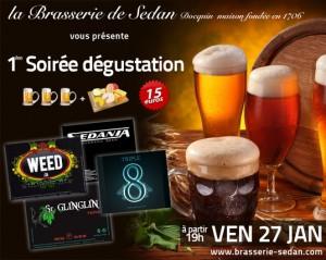 Avec la billetterie en ligne de la Brasserie de Sedan venez déguster des bières exceptionnelles!