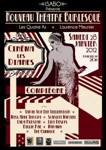 La billetterie en ligne Weezevent présente le Nouveau Théâtre Burlesque