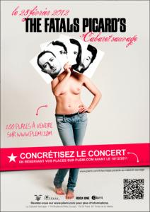 Plemi et CICG présente un concert participatif des Fatals Picards avec la billetterie électronique Weezevent
