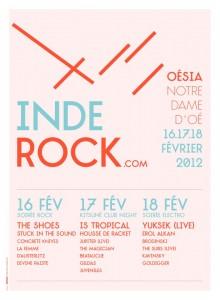 Le festival Inde'Rock propose de réserver ses places avec la billetterie Facebook Weezevent