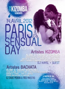 Pour le Paris Sensual Day, Cocktail Caraibes et We Love Salsa ont choisi une billetterie personnalisable