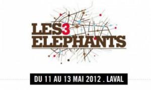 Pour la 15ème édition du festival Les 3Eléphants réservez vos places avec la billetterie sur mesure Weezevent
