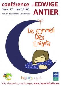 Conférence sur le sommeil des enfants d'Edwige Antier propulsé par la billetterie association Weezevent
