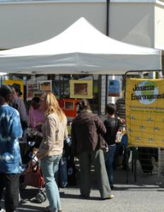 L'association Jeunesse Environnement organise un vide grenier avec la billetterie libre service Weezevent