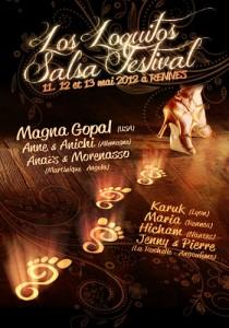 Les meilleurs danseurs de Salsa seront au Los Loquitos Salsa Festival avec la billetterie organisateurs