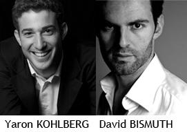 Musicality présente Yaron KOHLBERG et David BISMUT en concert avec le progiciel billetterie Weezevent