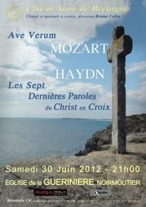 Le Choeur Anne de Bretagne intègre la billetterie de concert weezevent àson site internet
