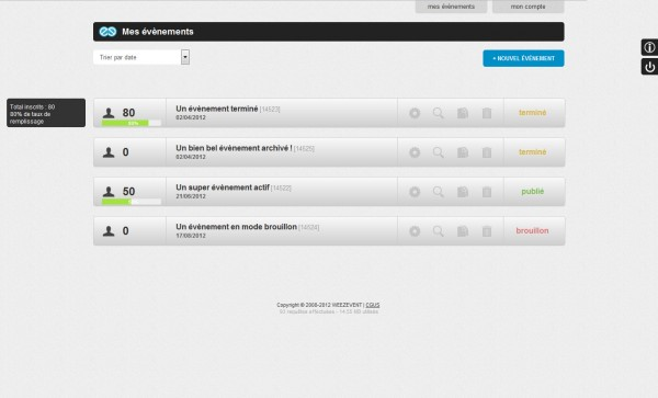 Une nouvelle interface pour Weezevent!