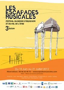 Pour leur 3ème édition le festival des Escapades Musicales utilise une billetterie dématérialisée