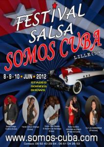 Le festival de salsa Somos Cuba utilise la billetterie intégrée weezevent