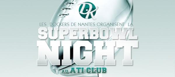 Les Dockers de Nantes organisent une soirée Superbowl avec le logiciel Weezevent