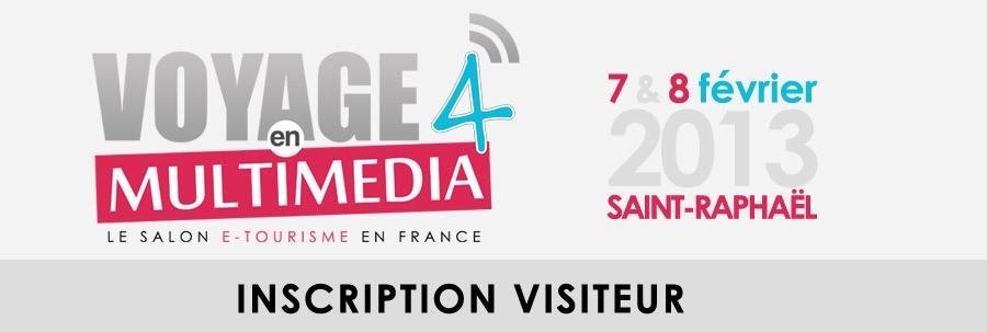 Les inscriptions en ligne pour le salon du e-tourisme en France se font avec le logiciel Weezevent