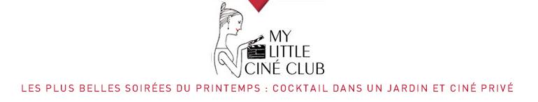 My Little ciné lancé par My Little Paris propose des inscriptions en ligne via le logiciel Weezevent!