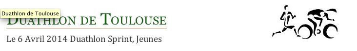 Inscriptions en ligne Weezevent pour  la 18e édition du Duathlon de Toulouse!